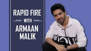 Armaan Malik's MOST ENJOYABLE Rapid Fire | Shah Rukh Khan | Arijit Singh | Tootey Khaab