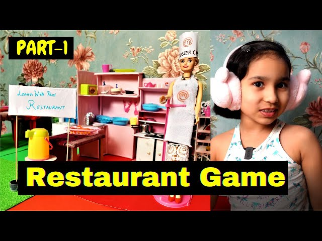 Cooking game in Hindi Part-20 / Restaurant Game in Hindi #LearnWithPari