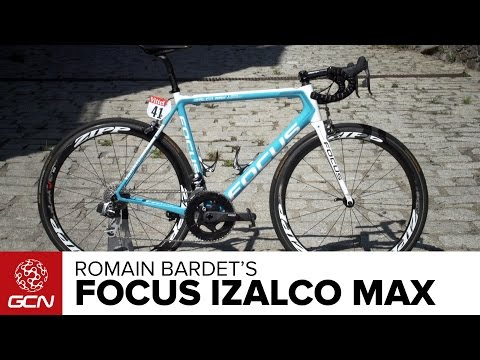 Romain Bardet's Focus Izalco Max