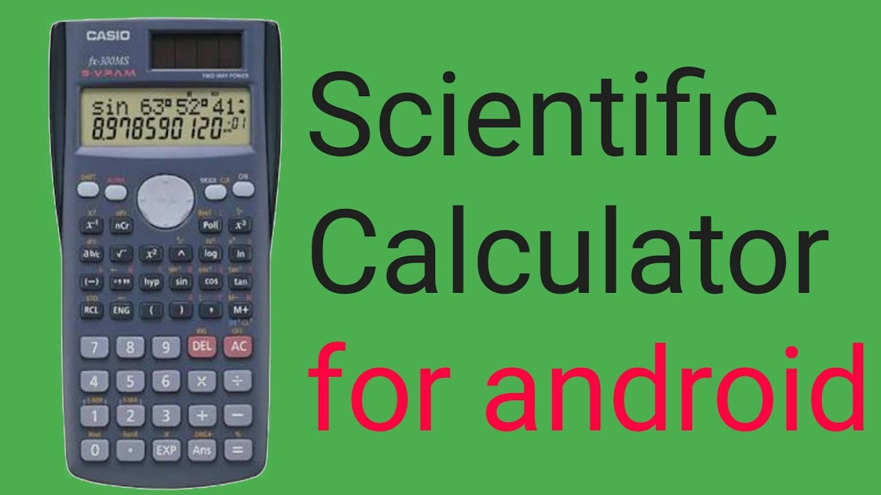 Scientific calculator » apk thing android apps free download.