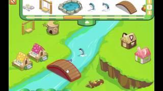 Un juego de Construir Crea  ciudad de campo con animales