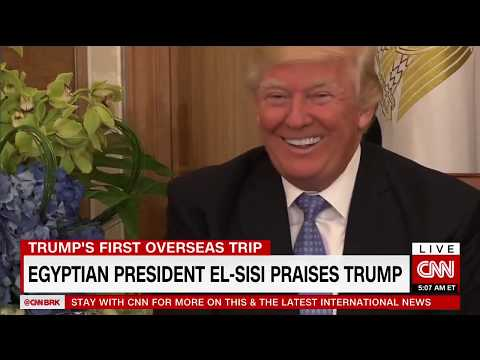 Egyptian President tells Trump he's 'capable of doing the impossible'