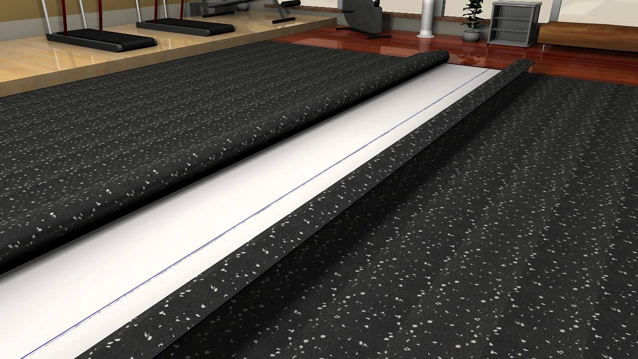 How To Install Rolled Rubber Flooring  Floor Matttroy