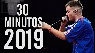 Â¡Los 30 MEJORES MINUTOS del AÃ'O 2019! | Batallas De Gallos...