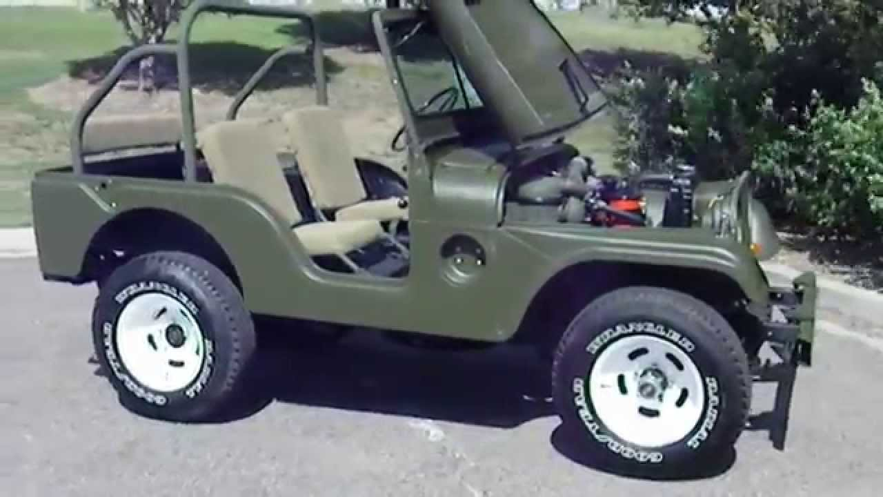 1953 willys jeep m38a1 army 4x4 truck restored and rare [ 1280 x 720 Pixel ]