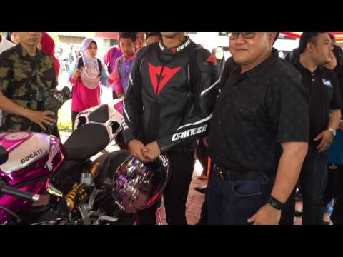 Tunku Panglima Johor and Tunku Paduka Putera Johor Prepare to #rideforjalil