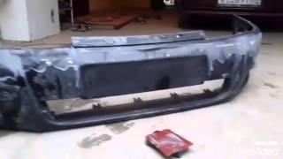 видео Ваз 2112: делаем тюнинг заднего бампера своими руками