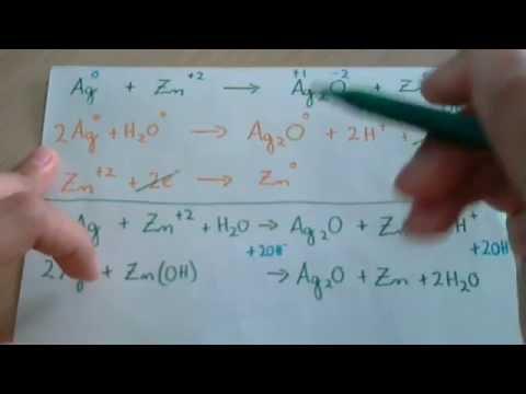 Ajustar o balancear una reacción redox en medio básico Ejemplo 2
