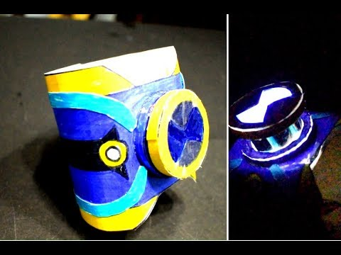 How to make Ben 23 omnitrix with paper that glows like Real - DIY
