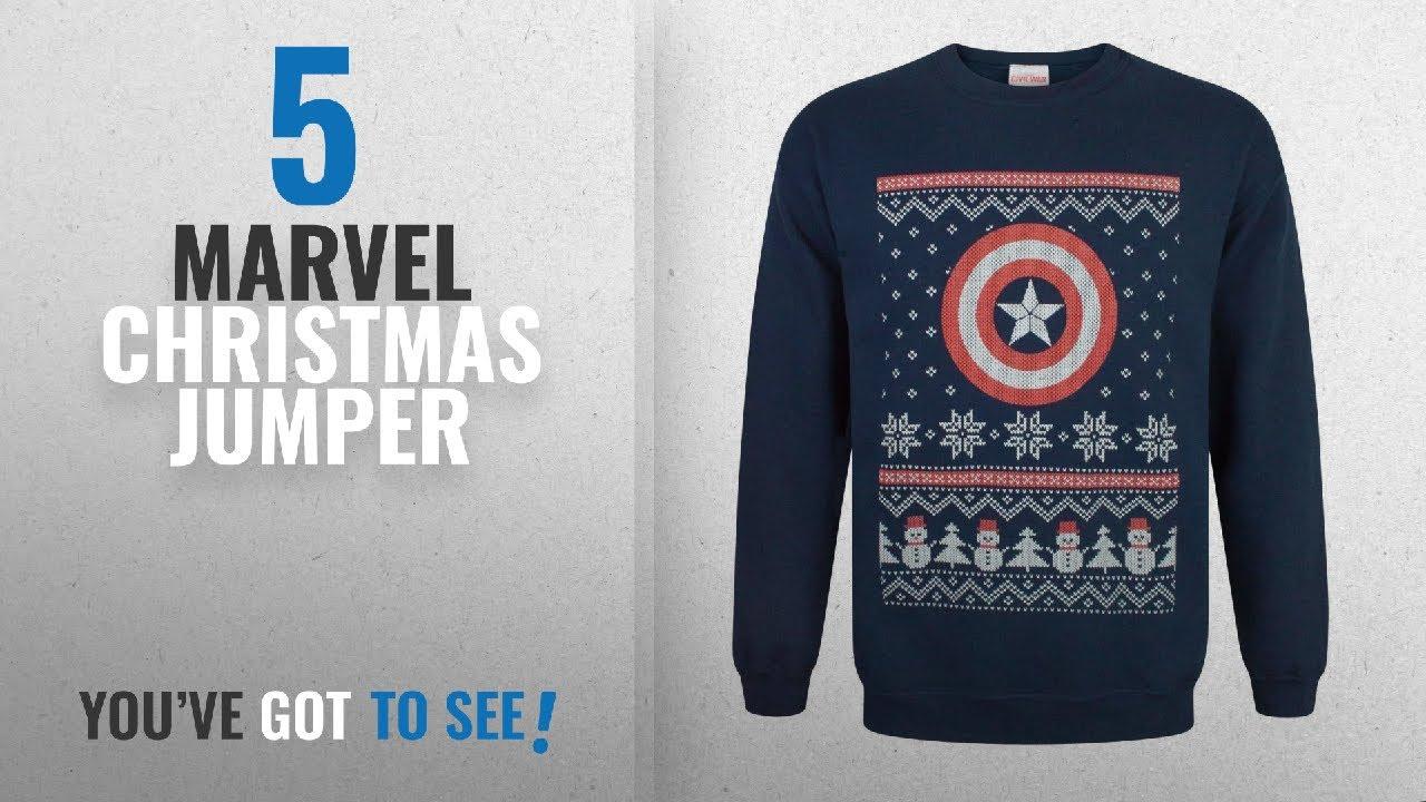 top 10 marvel christmas jumper 2018 captain america marvel christmas sweatshirt
