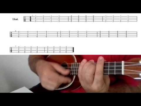True Love Coldplay (ukulele Cover) How To Play With Tabs