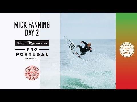 Mick Fanning Behind The Scenes, Day 2 | 2018 MEO Rip Curl Pro, Portugal