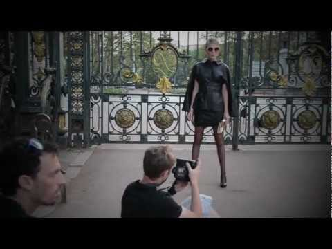 Shooting outdoor, making of PASCAL PIVETEAU PARIS