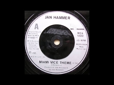 Jan Hammer - Miami Vice Theme (Extended Remix) (1985) Especial Promo HD