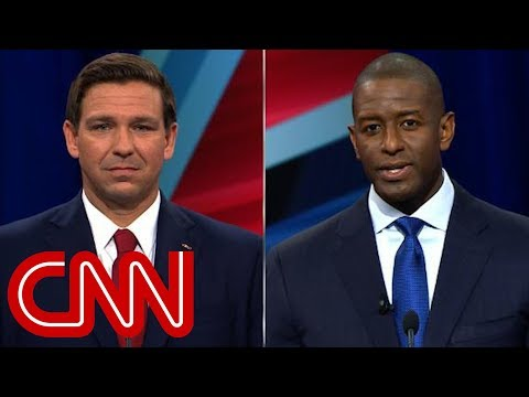 CNN: Gillum: DeSantis' monkey comment says it all