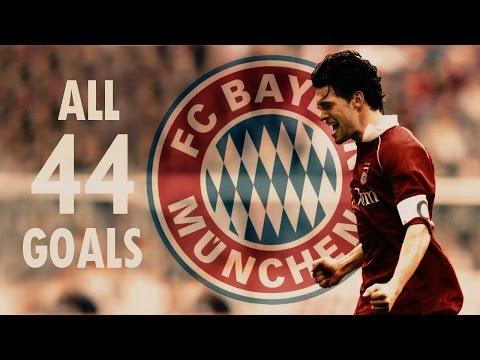 Michael Ballack ✪ All Goals for Bayern München ✪  ᴴᴰ