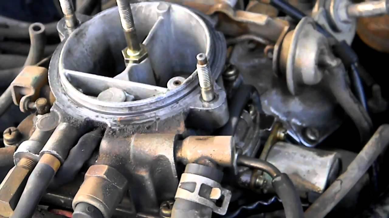 mazda b2200 carburetor diagram kawasaki prairie 300 parts 1987 b2600 wiring diagrams squealing 88 carb youtube rh com fuel line