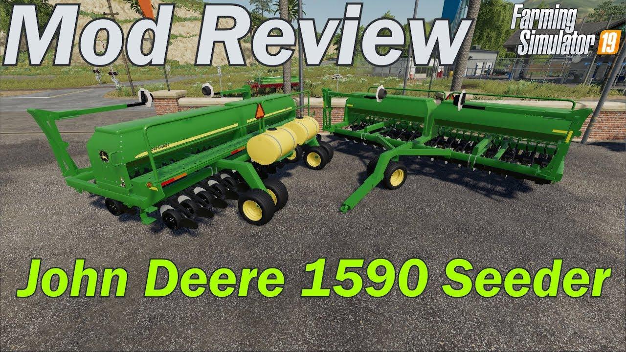 Mod Review - JohnDeere 1590 Seeder