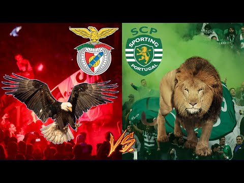 SL BENFICA 4-3 SPORTING CP   O ETERNO DÉRBI EM DIRETO!