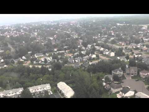 Air Canada 8914 Landing In Quebec City