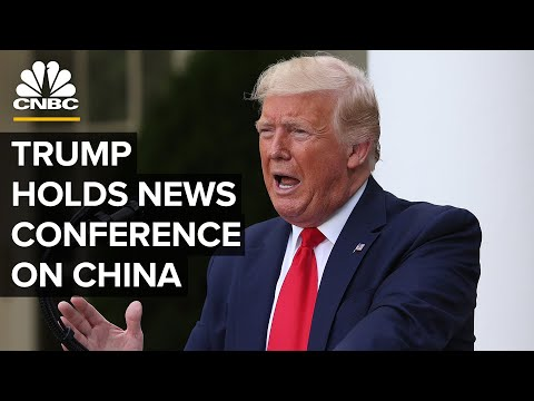 President Trump Holds A News Conference On China — 5/29/2020
