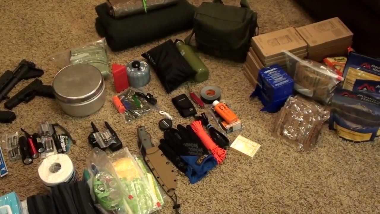 72 Hour Kit Survivial Bug Out Bag