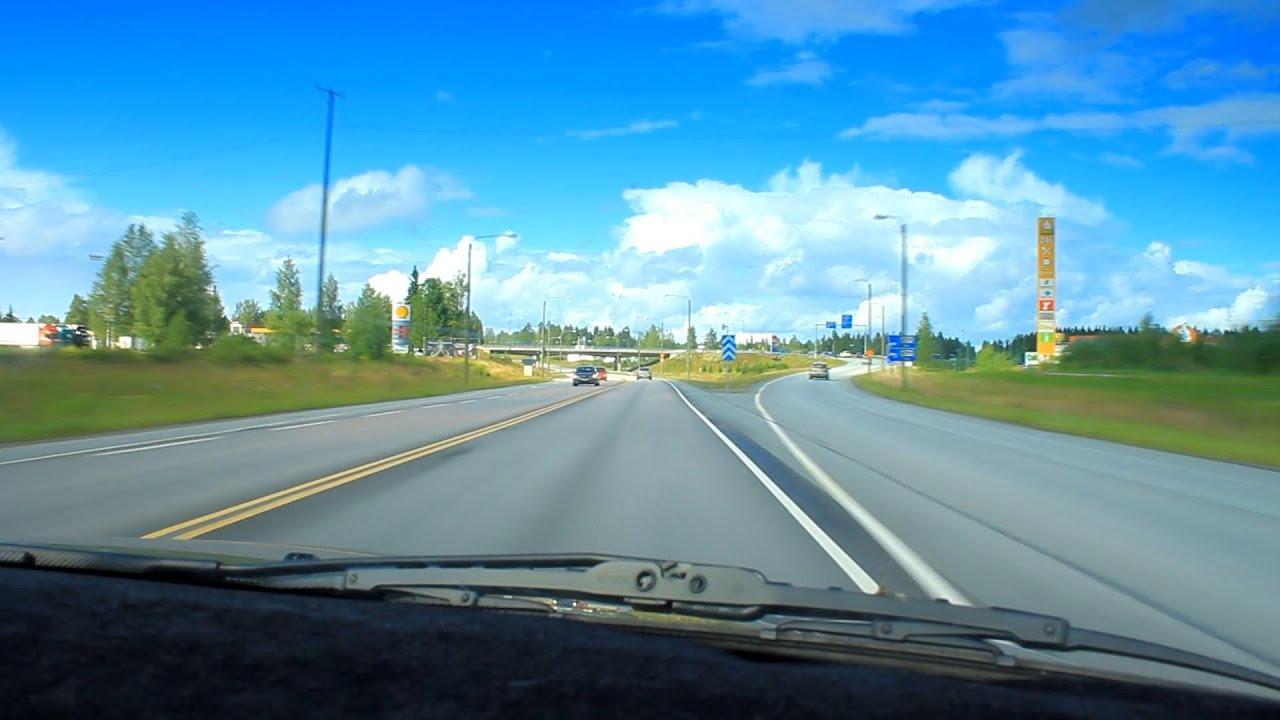 Road trip - Finland, Mikkeli - Juva - YouTube