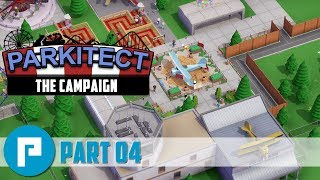✈️ Parkitect Campaign Playthrough - Part 04 - Chanute Airfield