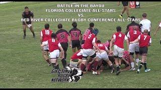 Red River Collegiate Rugby Conference All Stars vs Florida Collegiate Select