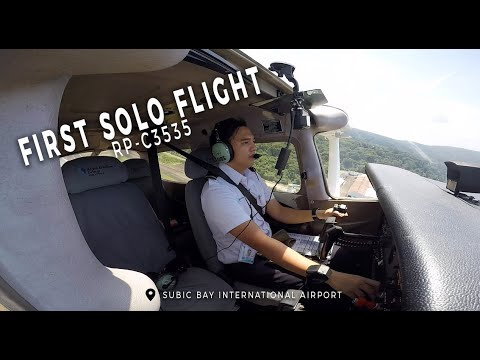 First Solo Flight | Alpha Aviation Group Philippines