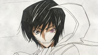 How to draw Lelouch