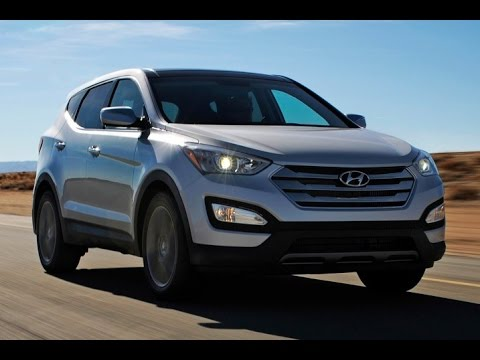 2016 Hyundai Santa Fe Sport Start Up and Review 2.4 L 4-Cylinder