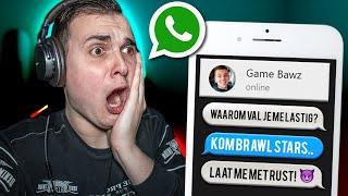 """Ga NOOIT Game Bawz Pranken! 😲 LYRICS PRANK """"Joran Bawz - Brawl Stars Rock"""" *Hij Is WOEDEND!"""" thumbnail"""