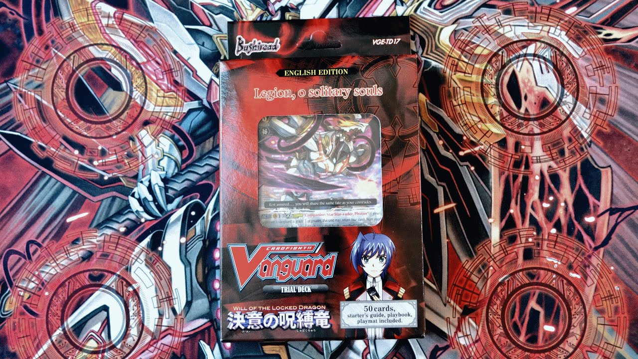 cardfight vanguard trial deck unboxing td17 will of the. Black Bedroom Furniture Sets. Home Design Ideas