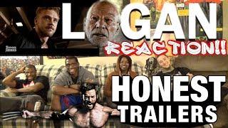 Honest Trailers - Logan (Feat. Deadpool) 200th Episode Reaction!