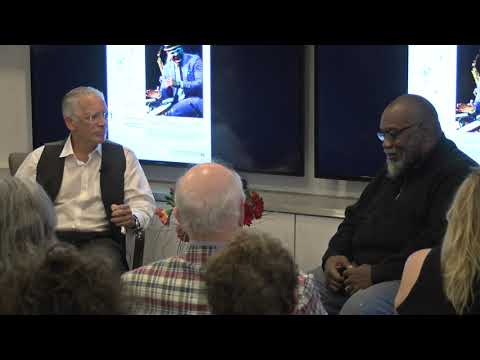 Cooper Gallery Conversation with Fred Moten and Frank Stewart (09-17-2019) on YouTube