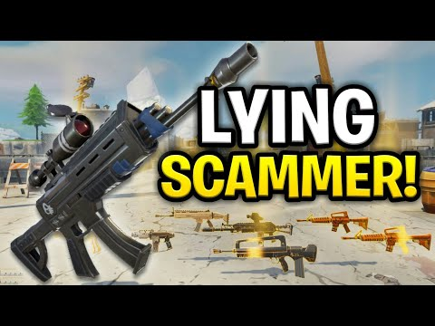 The Biggest Lying Scammer Ever Scams Himself! (Scammer Get Scammed) Fortnite Save The World