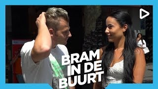 Rapper Sjors versiert vrouwen - Bram in de Buurt | SLAM!