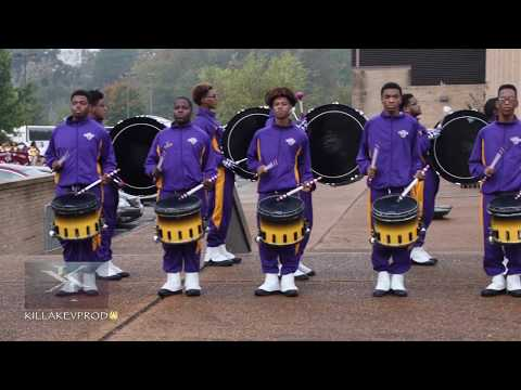 Edna Karr High School Marching Band - Drum Section - 2017