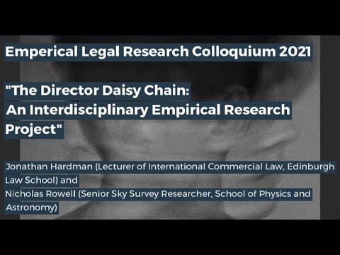 Edinburgh Legal Research Network Colloquium - Part 1