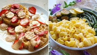A DAY OF EATING WHAT I WANT/VLOG [VEGAN MAC & CHEESE + TARGET HAUL] | PLANTIFULLY BASED