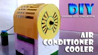 how to make a air conditioner cooler