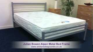 Julian Bowen Alpen Metal Bed Frame