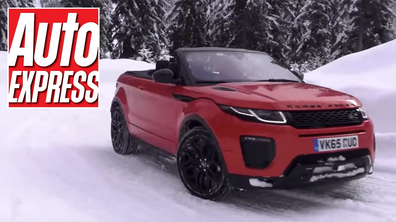 Range Rover Evoque Convertible review we test LR s off road show