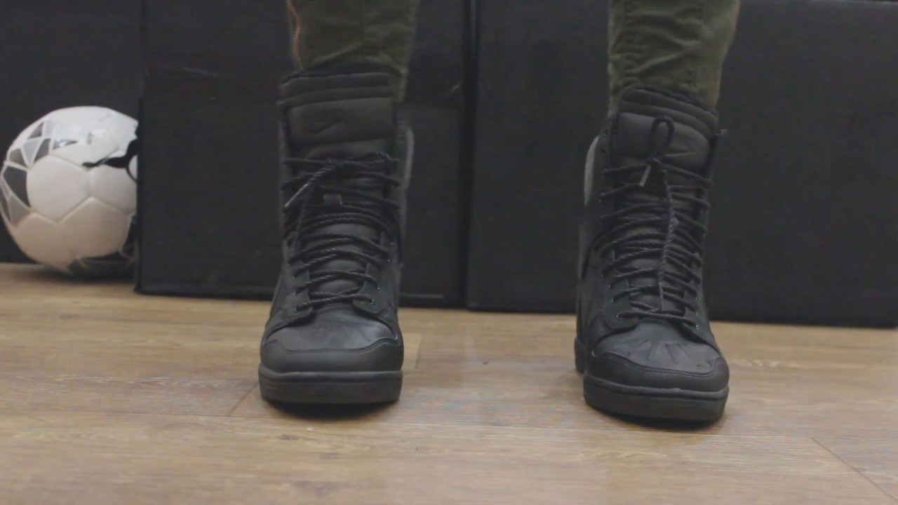 size 40 b7b5a 0872b Nike Dunk Sky Hi Sneakerboot | SNEAKERS.by - YouTube