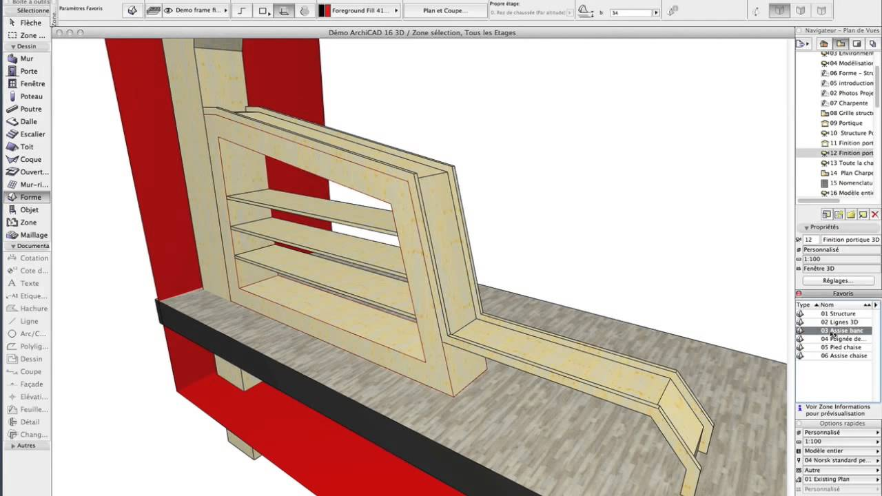 Archicad Outil Forme Youtube
