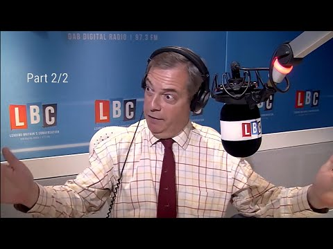 The Nigel Farage Show: Are Amber Rudd's new measures to tackle crime enough? 2/2 LBC- 8th April 2018