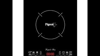 pigeon rapido slim 2100-watt induction cooktop unboxing