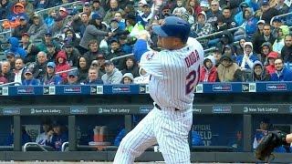 ATL@NYM: Mets club four home runs against Braves