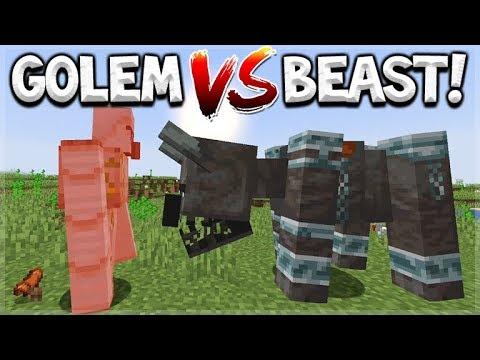 minecraft update pillager beast vs iron golem. Black Bedroom Furniture Sets. Home Design Ideas